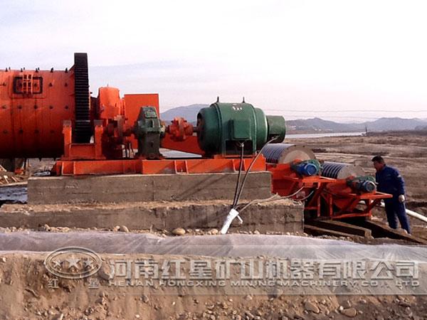 钛铁矿选矿现场