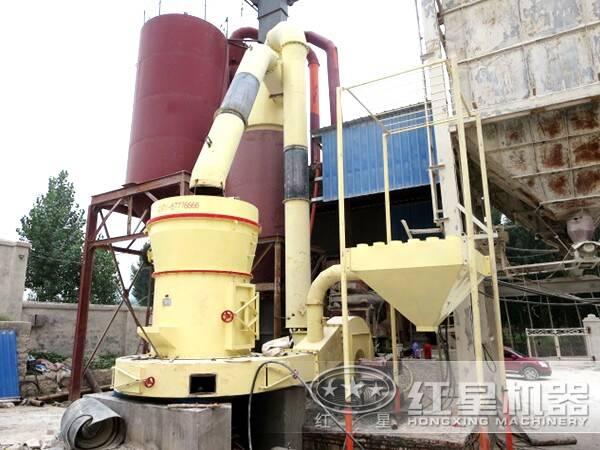 重晶石磨粉生产线设备
