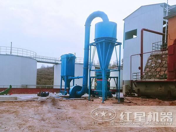 石墨磨粉生产线现场