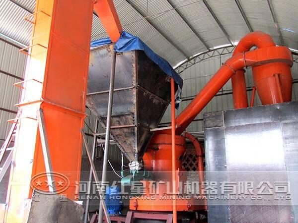 高岭土磨粉生产线设备