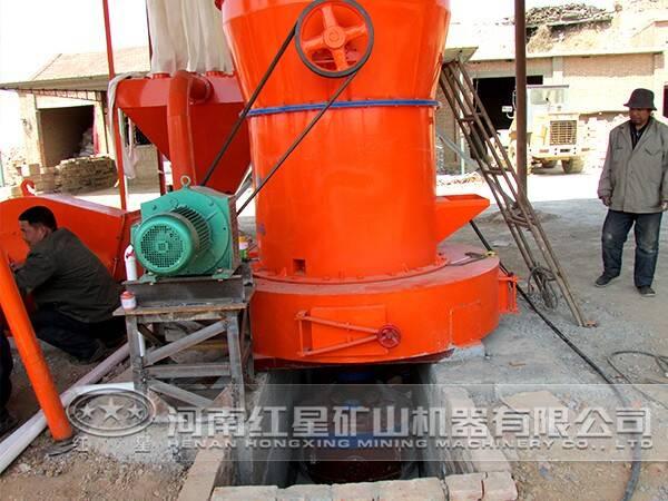 高岭土磨粉生产线流程
