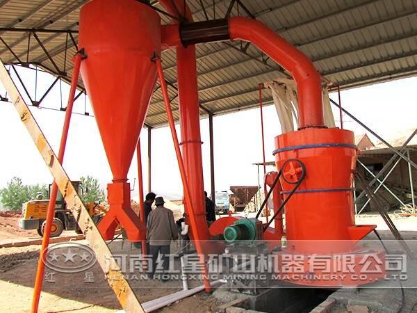高岭土磨粉生产线特点