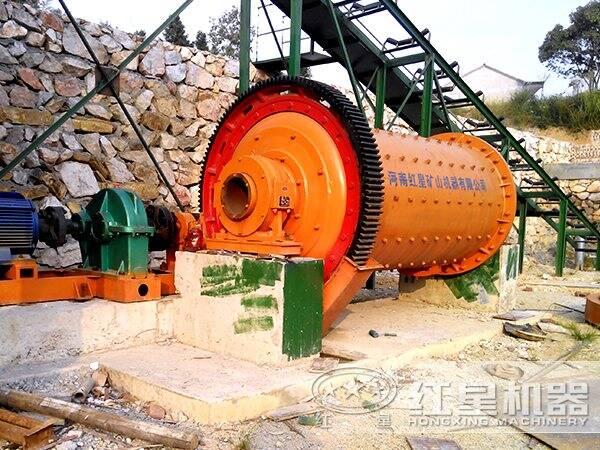萤石矿选矿生产线