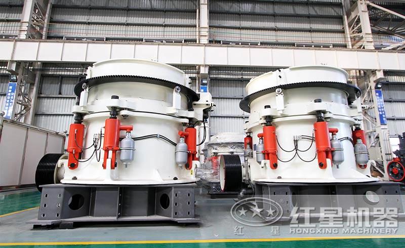 液压圆锥破碎机,时产72-1100吨