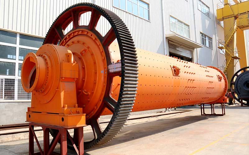 红星机器镍矿球磨机