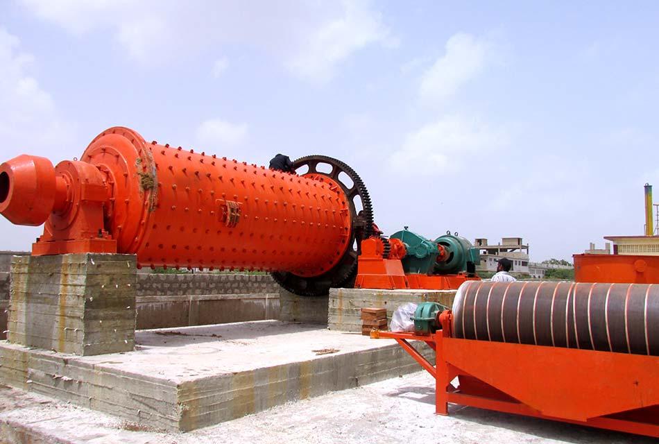 河北宣化铁矿磁选生产线案例