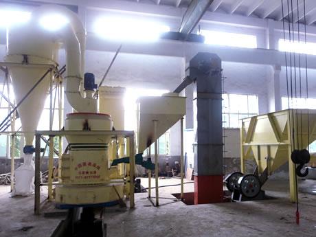 广西象州重晶石磨粉生产线