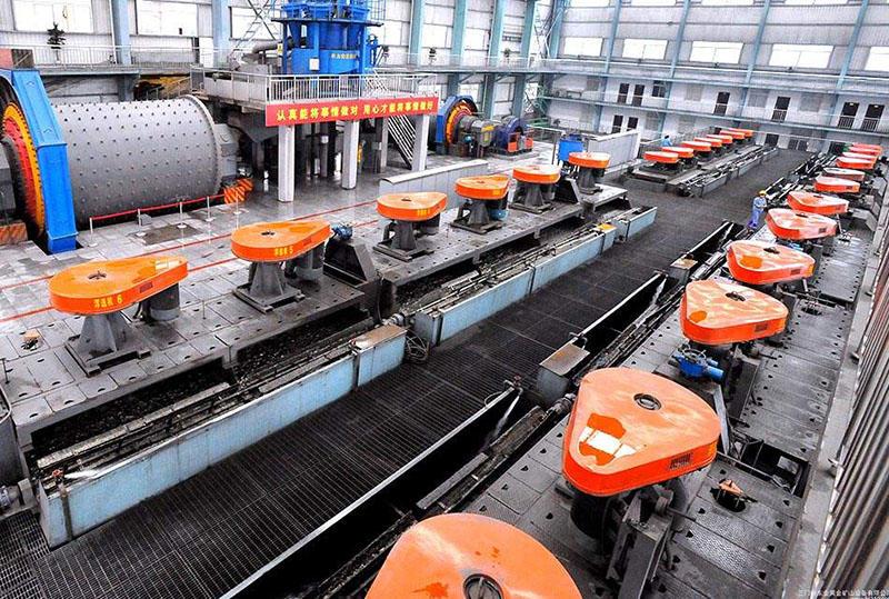 云南750吨/天铜矿浮选生产线