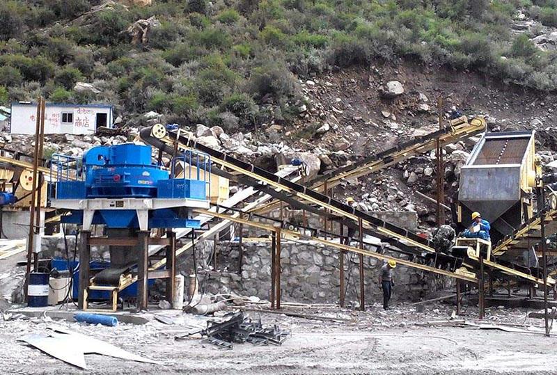 浙江湖州鹅卵石制砂生产线