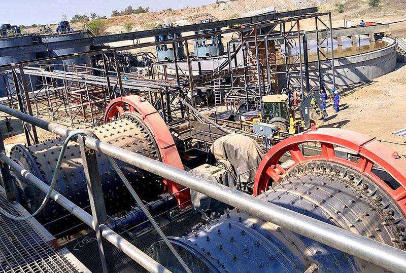 安徽沙坪沟钼矿选矿生产线案例