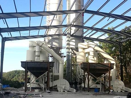 辽宁海城滑石磨粉生产线