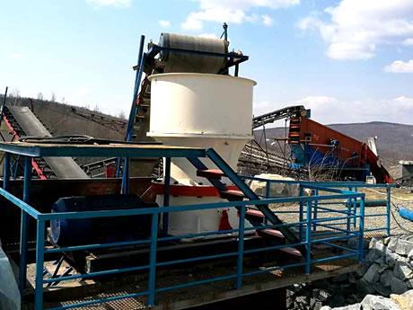 江苏时产200吨花岗岩破碎制砂项目