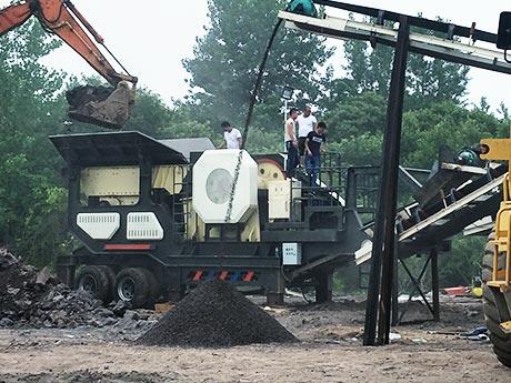 山西大同时产500t煤矸石破碎加工项目