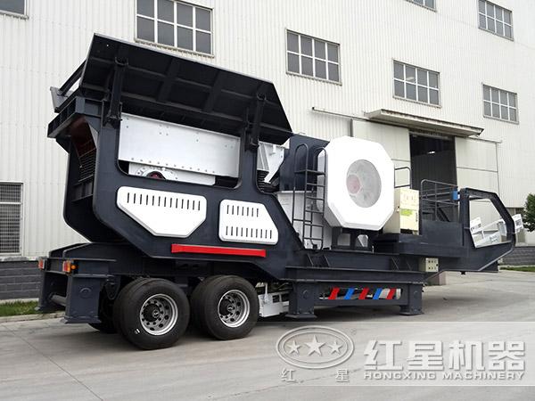 时产150吨-300吨汽车车载移动碎石机