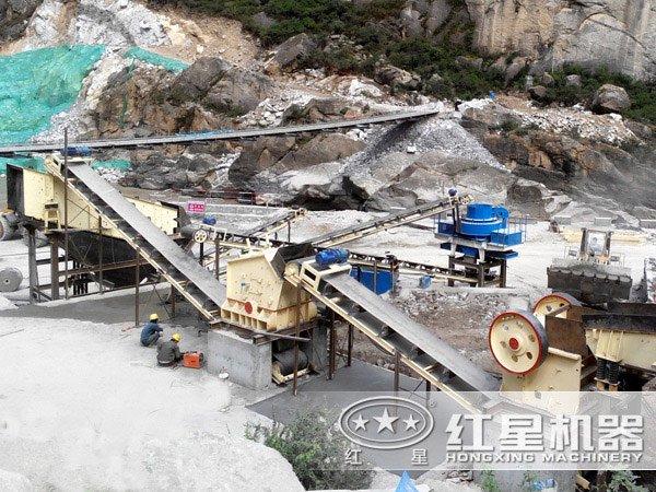 时产150吨-300吨全套碎石生产线