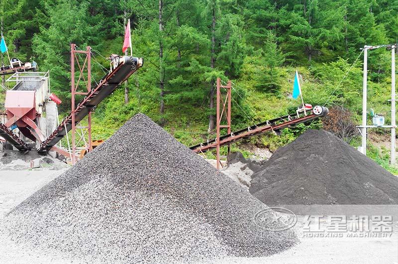 湿式制砂生产线现场