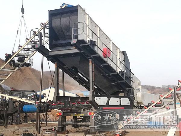 山东青岛建筑垃圾破碎加工项目