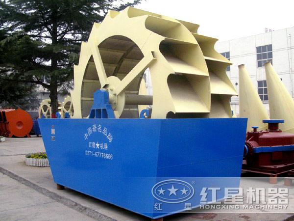 一小时60吨-200吨的石粉洗砂机