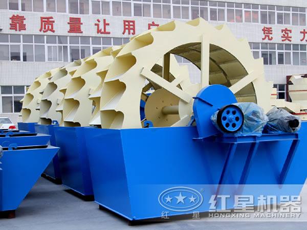 一小时60吨-200吨的石粉洗砂机型号全