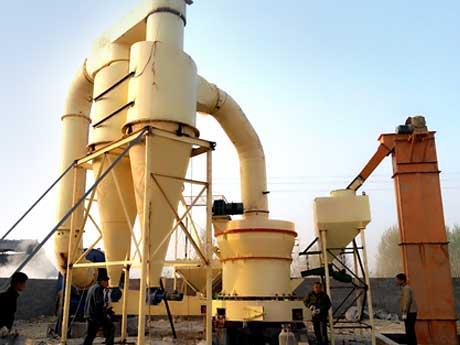 江西500t/h滑石磨粉生产线加工项目