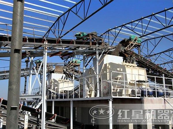 山东菏泽鹅卵石制砂项目工程1