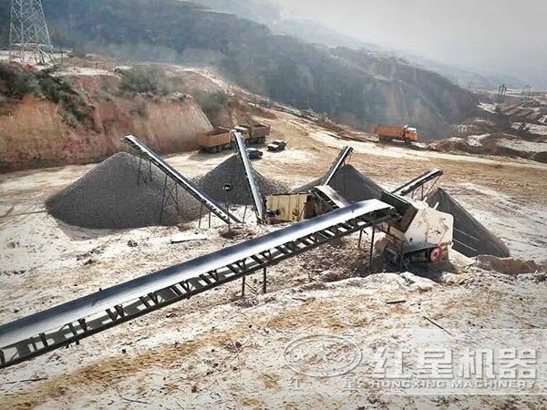 河北沧州时产100吨鹅卵石制砂加工项目
