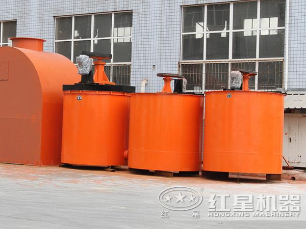 多种不同类型搅拌桶