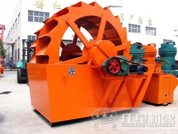 xs2900轮斗式河沙洗砂机