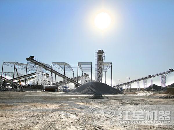 硅石制砂生产线现场图5