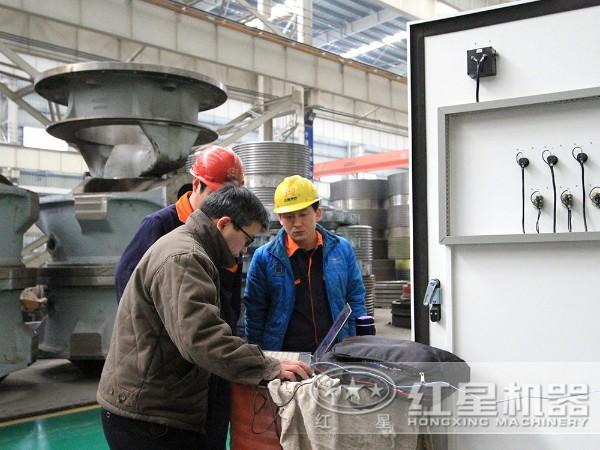 300目以上磨粉设备匠心做工,生产现场