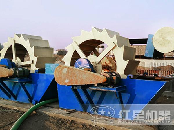 200t/h的砂包土洗沙生产线