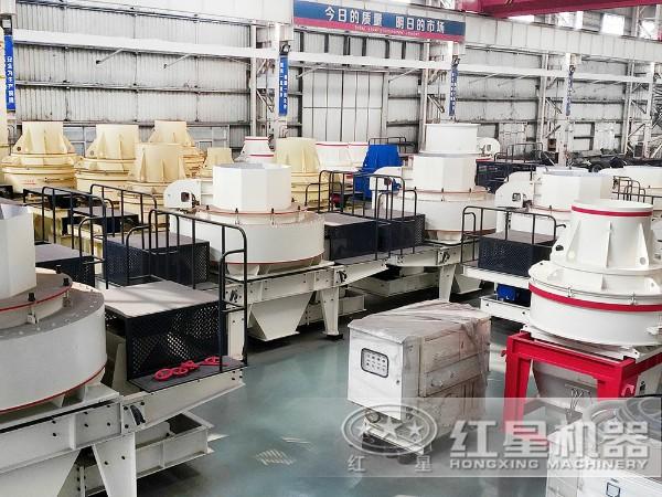 时产20吨河沙制砂机生产车间