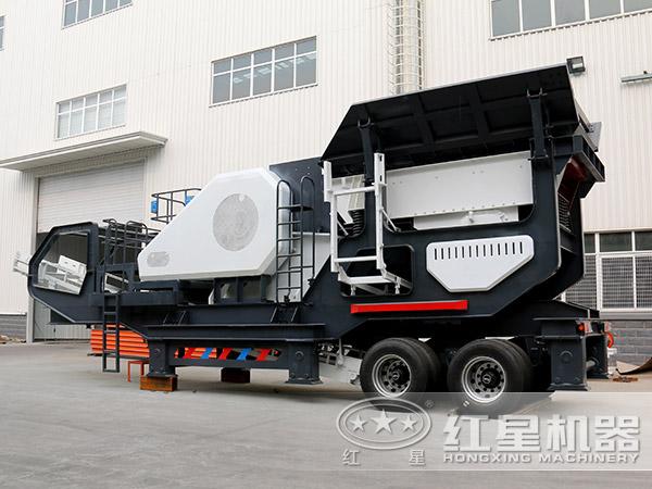 200吨/时建筑垃圾破碎机配颚破机