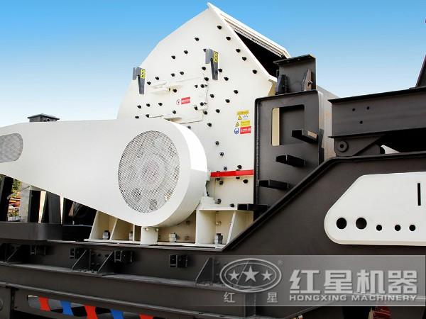 200吨/时建筑垃圾破碎机配反击破