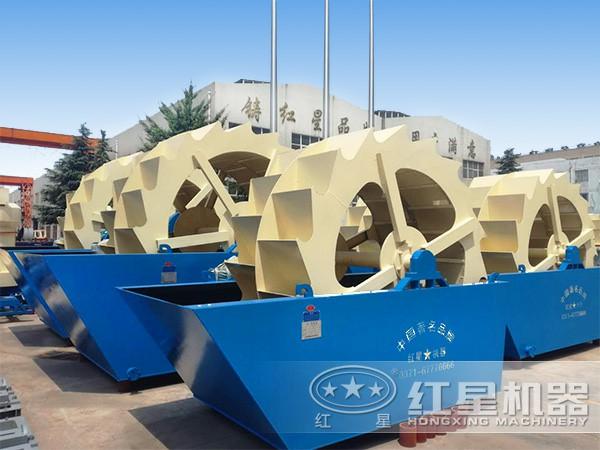 时产100吨沙子洗砂设备
