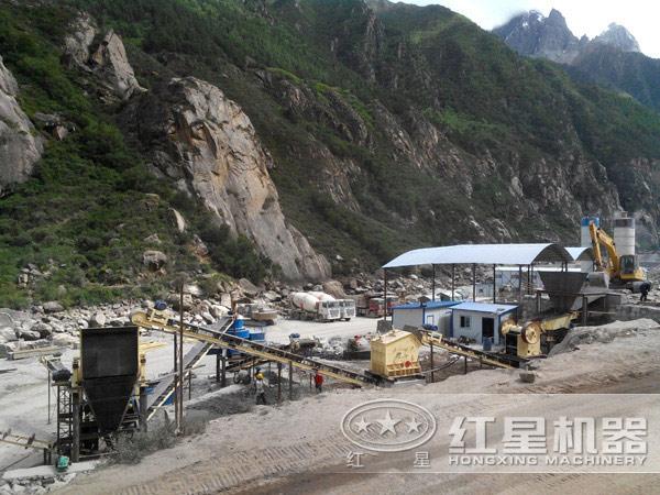 江西尾矿处理现场