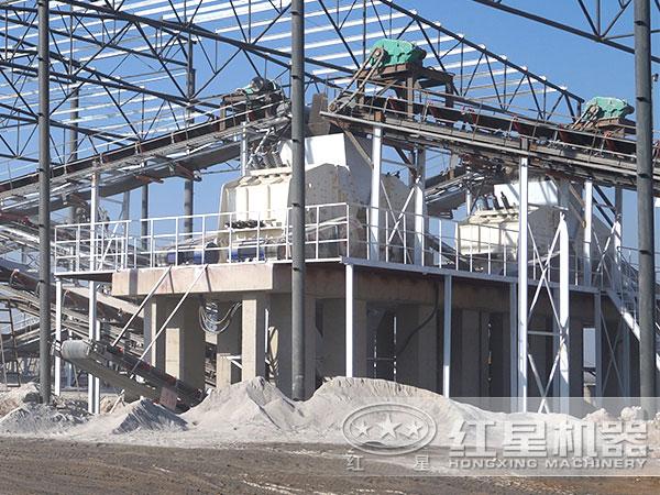 河北某环保制砂生产线现场2