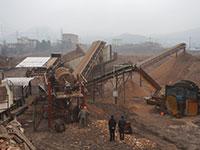 一小时200吨到300吨的可移动打石子机大概什么价位?