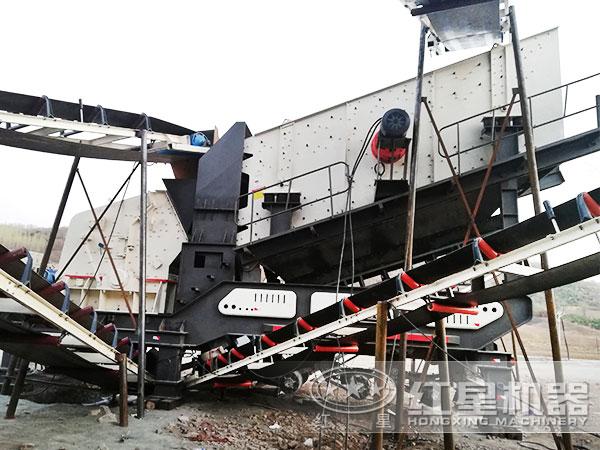 河北青石破碎加工项目