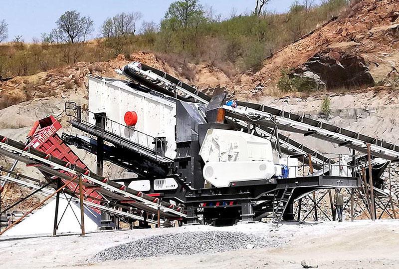 安徽蚌埠200t/h青石破碎加工项目