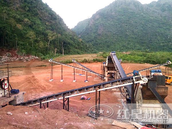 山西长治时产500吨青石制砂生产线项目