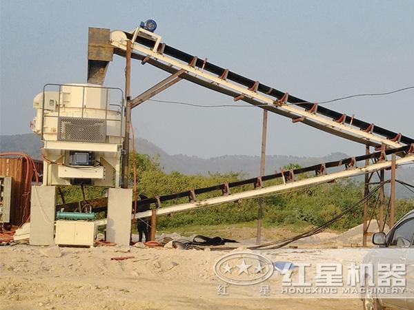 河南洛阳日产3万方卵石制砂生产线项目