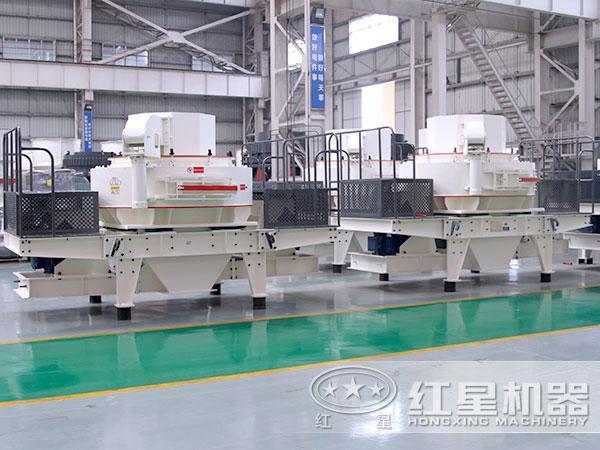 时产200吨青石制砂机