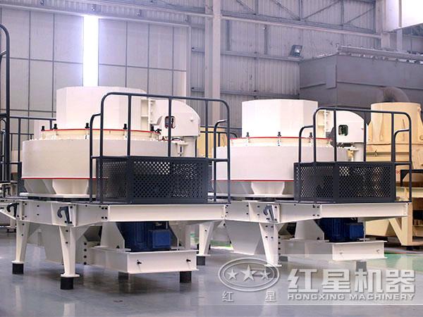 时产200吨青石制砂机厂家