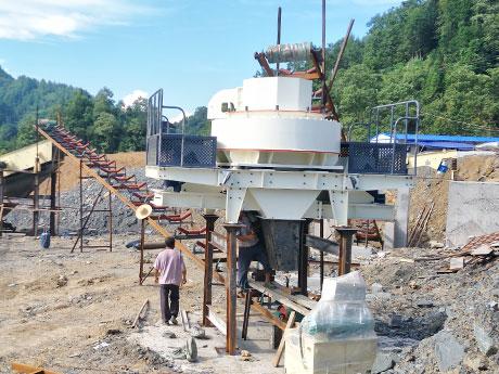 四川宜宾50万方卵石制砂生产线项目