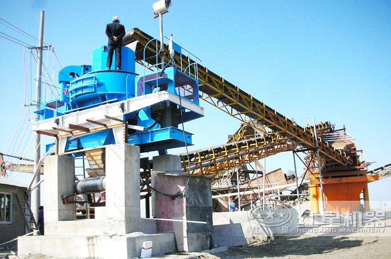 时产50吨环保制砂设备