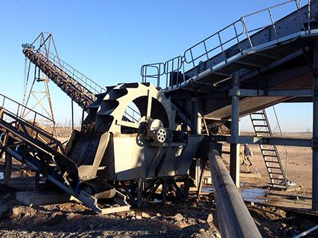 广西桂林时产80方风化石洗沙生产线