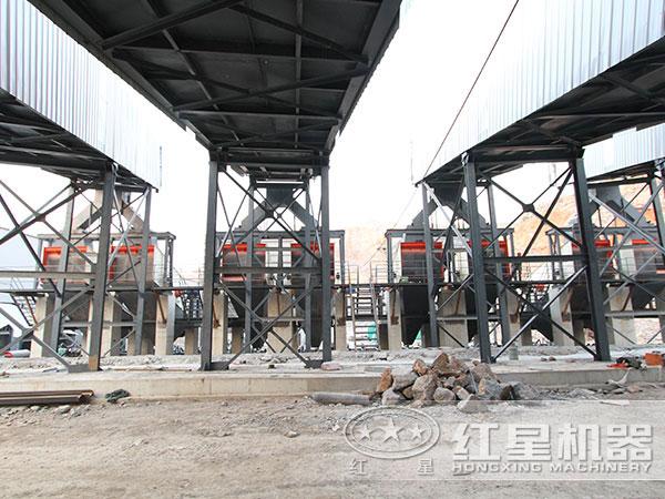 时产500吨硅矿破碎制砂生产线