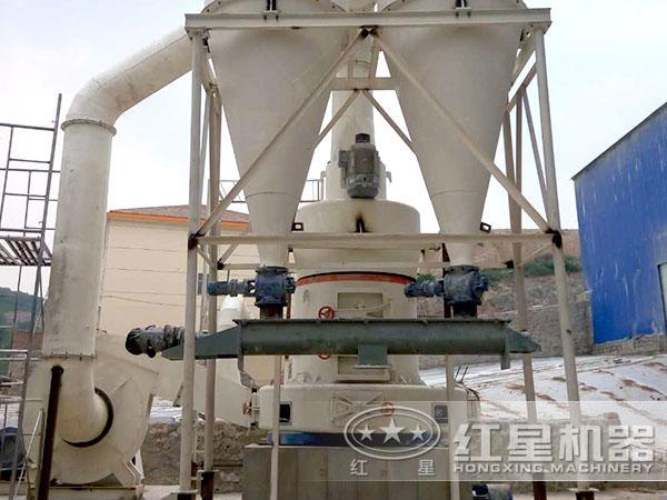 溶渣磨粉机生产现场占地小