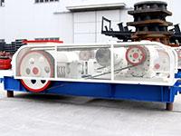 破碎煤炭用的时产40吨二齿辊破碎机型号与价格